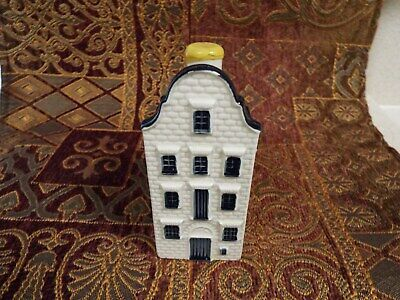 KLM Blue Delft house #79--sealed with contents--see info
