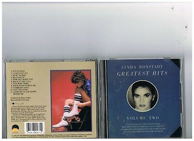 Linda Ronstadt Cd.the Very Best Of..greatest Hits..anthology.vol. 2