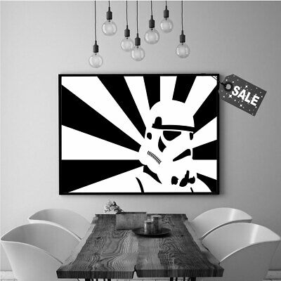 Oil Painting Art Print on Canvas Star Wars, Clone, Attack. Home Wall Decor 16x24