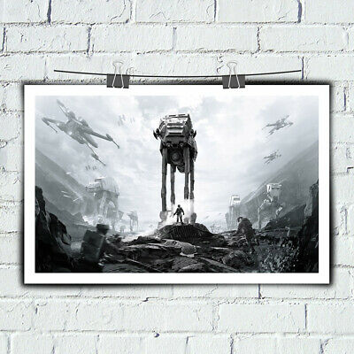 Painting Wall Art Star Wars Battlefront for Home Room Decor Print Canvas 16x24
