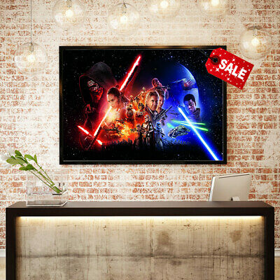 Painting Modern Art Print Pictures Star Wars Episode Room Decor on Canvas 16x24
