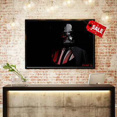 Canvas HD Art Print Home Decoration Oil Painting Darth Vader, Star Wars Toy16x24