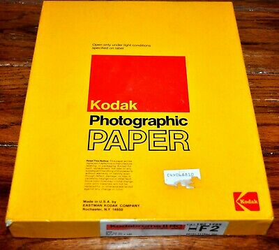 Vintage SEALED KODABROME II RC ~ 100 sheets 8x10 Inches Photographic KODAK Paper