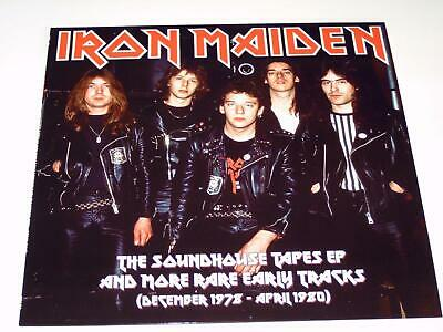 Iron Maiden - The Soundhouse Tapes Ep And More Rare Early Tracks - Lp Vinyl V009