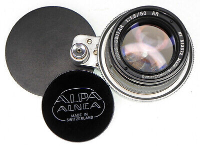 Alpa 50mm f1.8  Switar  #513372 ........... Superb !!