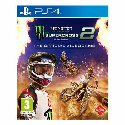Monster Energy Supercross 2 Sport 3+ PS4 Milestone 1031531