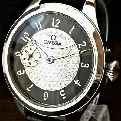 Special 1920 Omega skeleton hand-winding watch antique convert Men's Cal17