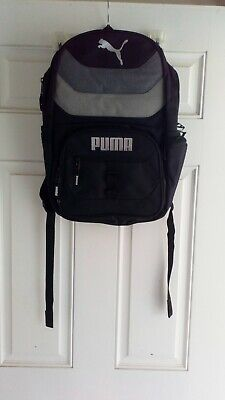 Puma Book School Bag Backpack Gray 893479 05 New