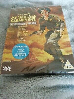 john ford,s my darling clementine arrow video blu ray brand new & sealed