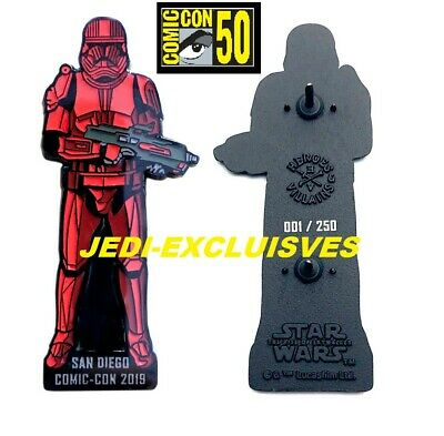 2019 SDCC Star wars Sith Trooper Rise of Skywalker Disney pin Exclusive In hand