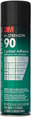 3M High Strength 90 Contact Spray Adhesive, 17.6-Ounces.
