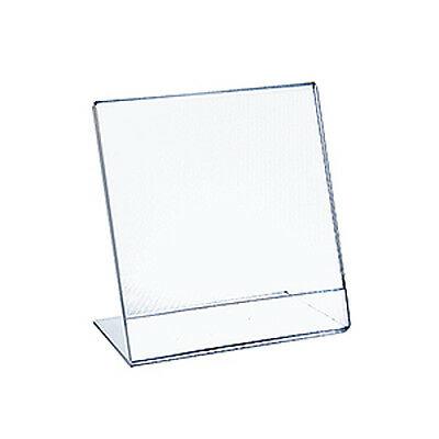 Acrylic Clear L-Shaped Sign Holder 11W x 14H Inches - Case of 10