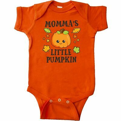Inktastic Mommas Little Pumpkin With Leaves And Stars Infant Creeper Halloween