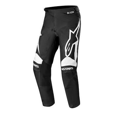 Alpinestars Cross Hose Racer Supermatic - Schwarz/Weiß
