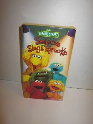 SESAME STREET ELMOS World Lot of 3 VHS Tapes Birthday, Springtime