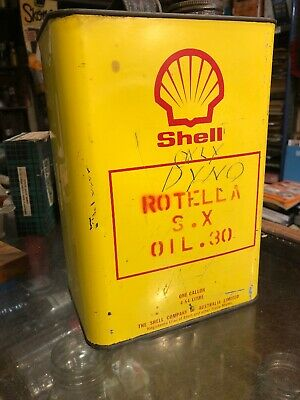 Shell Rotella 1 Gal Vintage Oil Can