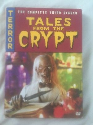 TALES FROM THE CRYPT The Complete Third Season (1991) 3 DVDs