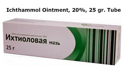 OLD TIME ICHTHAMMOL Ointment USP 20% Black Drawing Ointment