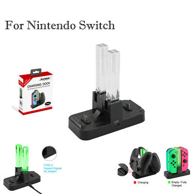 Charge Dock Charging Station LED indication Stand For Nintend o Switch Joy-Con