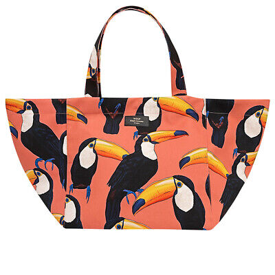 NEW Wouf XL Tote Bag Toco Toucan