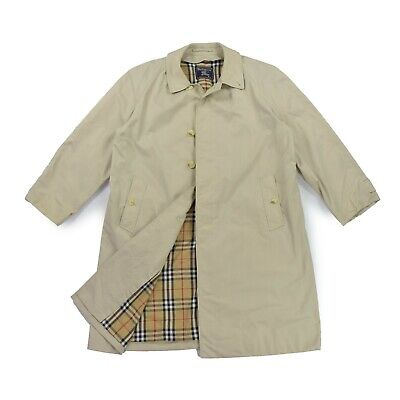 more photos 7ee59 fb48a BURBERRYS HERREN MANTEL Gr.56 Trenchcoat beige Coat Jacke Novacheck TOP