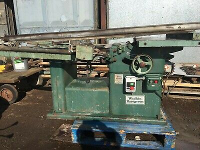 Wadkin Saw, fine used working condition - Long bed Priced to Sell
