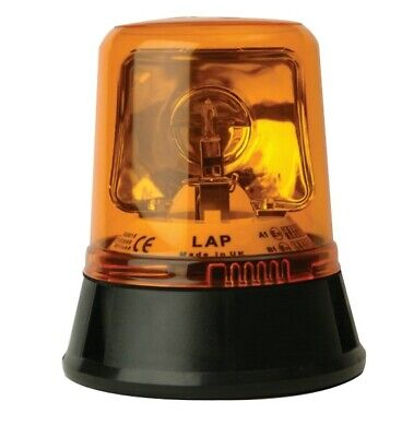 Magnetic (70mph) LAP Rotating Amber Recovery Halogen Beacon