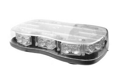 LAP Single Bolt Flashing Amber LED Mini Lightbar - R65 Approved -Clearance Offer