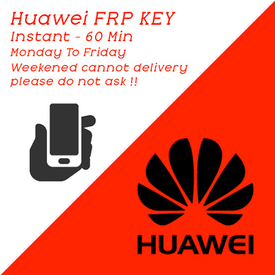 Huawei Frp Key Instant - 60 Min [ Monday To Friday ]