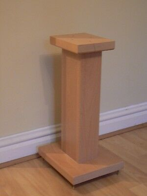 Solid Maple Wood speaker stands