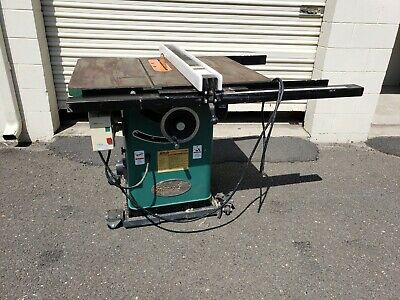 """Grizzly G1023S110 10"""" 2HP 110V Table Saw with mobile base"""