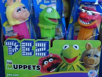 Case of 144 Muppets Pez Dispensers