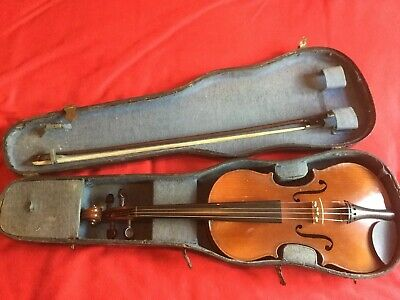 Violin 3/4 Joseph Guarnerius Copy Recently Repaired and Set Up
