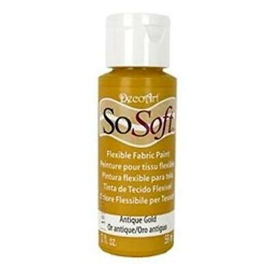 DecoArt SoSoft Acrylic Fabric Paint 59ml (2oz)