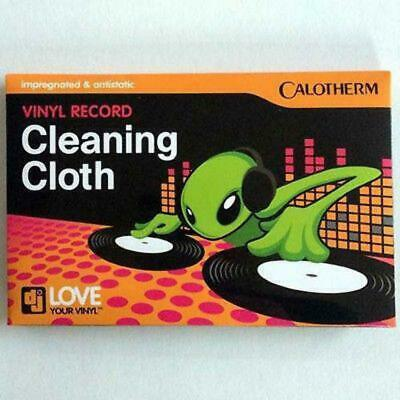 Calotherm Vinyl Record Cleaning Cloth - Impregnated & Antistatic