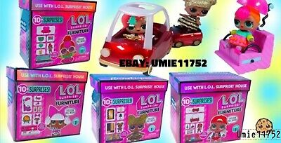 LOL Surprise Spaces Doll House Furniture/Doll Sets Lot Of 4 Sealed Box Preorder
