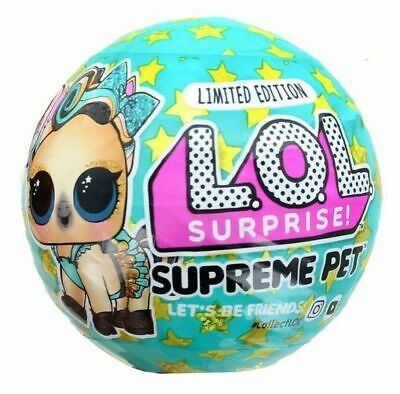 Limited Edition! LOL Surprise SUPREME Pet Series Brand New
