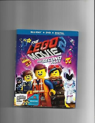 The Lego Movie 2 The Second Part Bluray+DVD+Digital With Slipcover