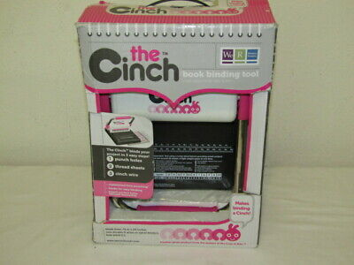 The Cinch Book Binding Tool We R Memory Keepers Round Hole Punch Machine