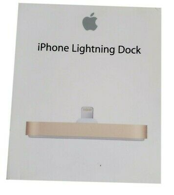 Apple iPhone Gold Lightning Dock for iPhone and iPod touch