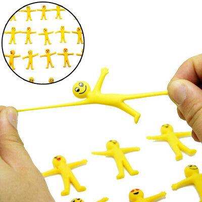 5Pcs anti stress squeeze yellow guy novelty /& gag toys decompression fun toJB