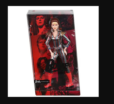 Mattel Barbie x David Bowie Doll Expected Ship July 2019 Gold Label Collection