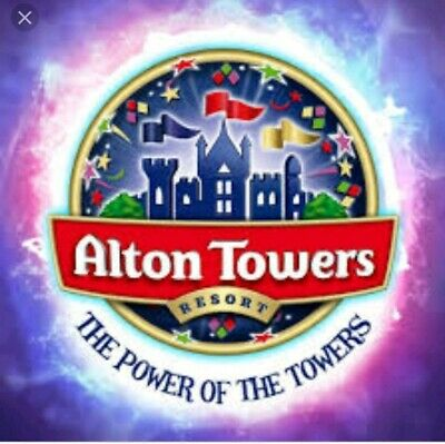 Alton Towers Tickets 19/7/19 - Friday 19Th July 2019 (Not E.tickets)