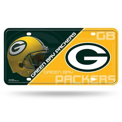 Green Bay Packers Metal License Plate [NEW] NFL Tag Auto Truck Car Cover Frame