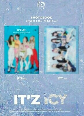 Itzy - It'z Icy Album (Version & Poster Option) [Kpoppin Usa] Kpop