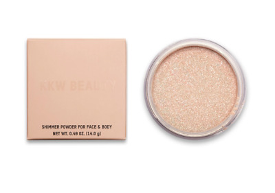 NEW IN HAND AUTHENTIC KKW BEAUTY Loose Shimmer Powder for Face & Body PEARL