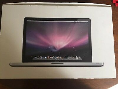 MacBook Pro 15 inch Box Only - Model: A1286 with Install DVDs Insert & Packaging