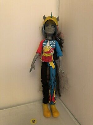 Monster high Male Boy doll Neighthan Rot - Freaky Fusion