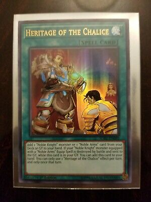 YuGioh Heritage of the Chalice NM (1st Ed.) SOFU-EN090 Ultra Rare Card