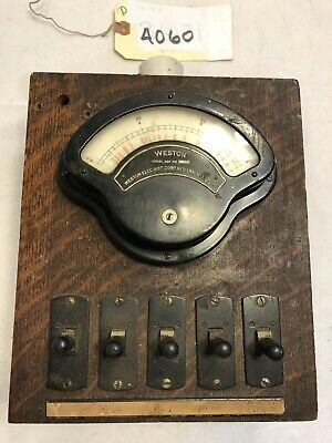 Vintage Weston Electrical Instrument Corporation Model 269, No: 24233 (4060)